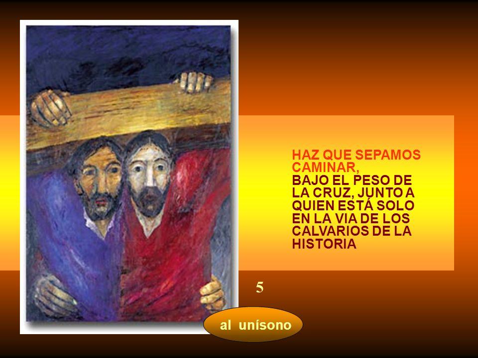ninguna palabra JESÚS Y MARÍA AYUDADME A VIVIR LA FATIGA DE TODA PRUEBA. Y PUEDAN OTROS ENCONTRAR EN MÍ SOSTÉN Y TERNURA 4