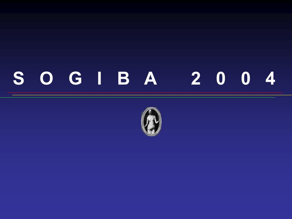 S O G I B A 2 0 0 4 Muchas gracias a todos, y nos vemos el año próximo…
