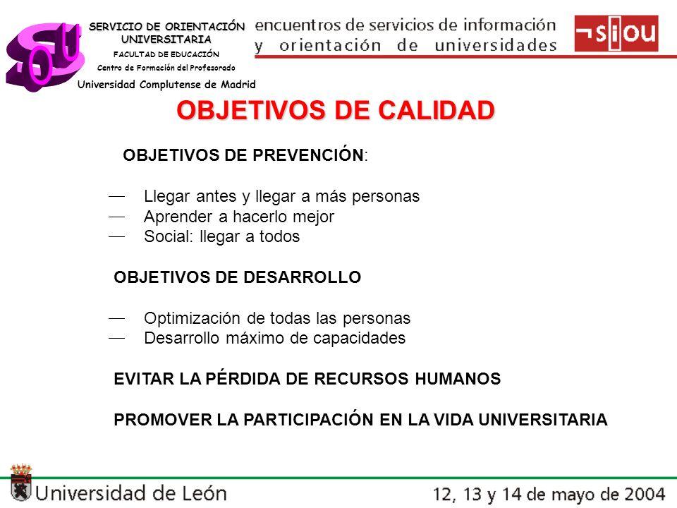 SERVICIO DE ORIENTACIÓN UNIVERSITARIA FACULTAD DE EDUCACIÓN Centro de Formación del Profesorado Universidad Complutense de Madrid PROGRAMA Día 29 junio: II.