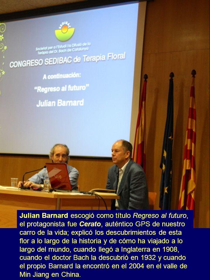 Julian Barnard escogió como título Regreso al futuro, el protagonista fue Cerato, auténtico GPS de nuestro carro de la vida; explicó los descubrimient