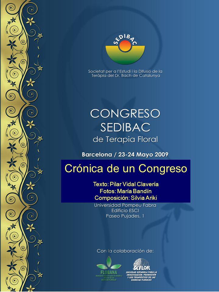 Y acababan las ponencias del sábado con Susana Veilati con El árbol genealógico floral: un recurso de uso diagnóstico, pronóstico y preventivo de la Terapia Floral Integrativa.