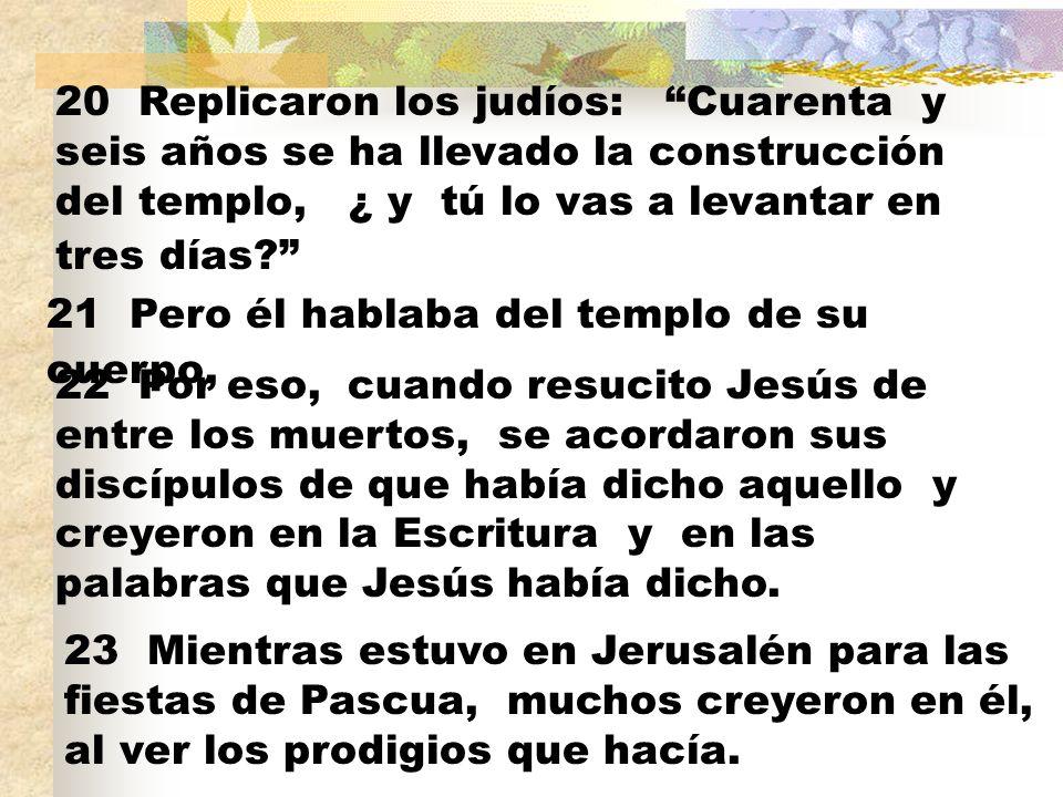 Noten que Jesús lo hizo en el tiempo de la Pascua.