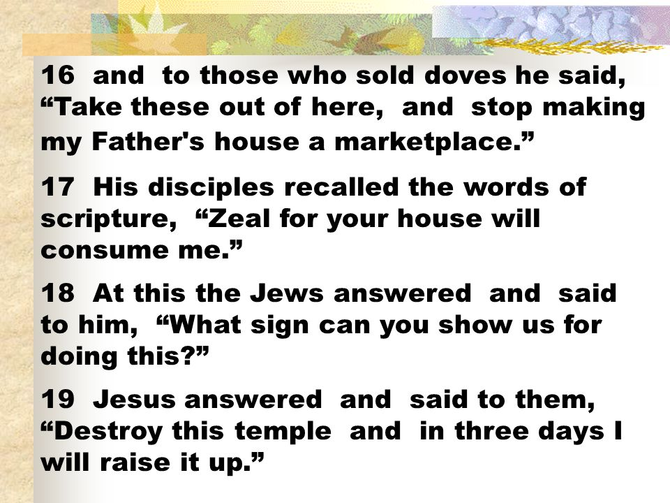 ¿Porque les negó Jesús una seña.