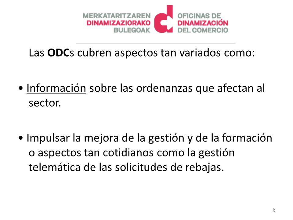 Información sobre las ordenanzas que afectan al sector.