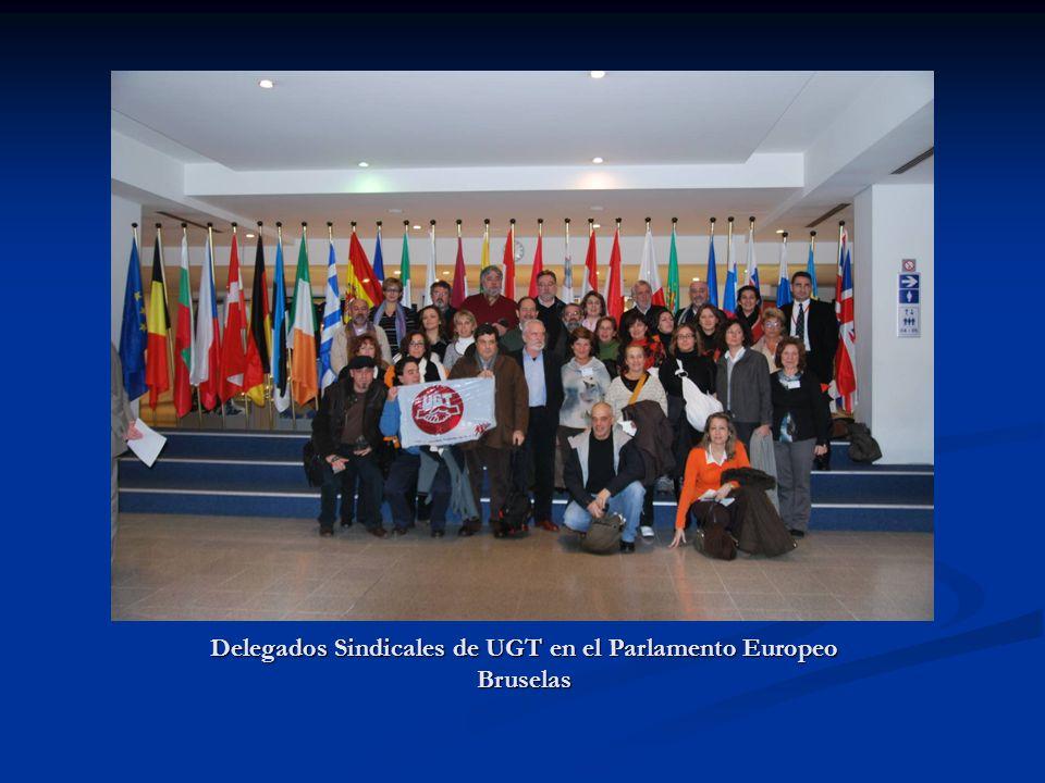 En un curso de la Escuela Julián Besteiro junto con Delegados Sindicales provinciales de UGT