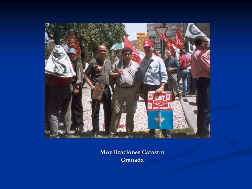 Movilizaciones Catastro Granada
