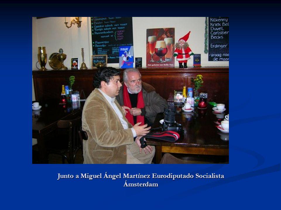 Junto a Jordi Sevilla exministro del Mº de Administraciones Públicas