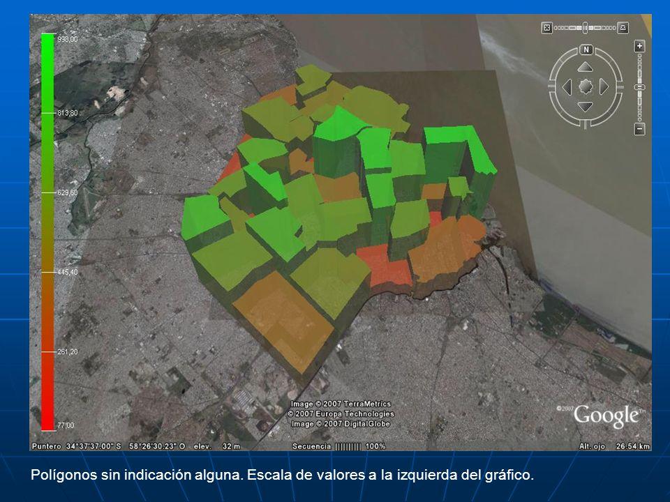 La potencia de Google Earth permite, entre otros aspectos: Rotar los gráficos.