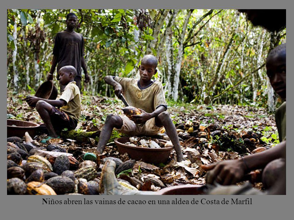 ¿Sabías que más de la mitad del cacao que consumes procede de África? ¿Sabías que allí hay plantaciones donde trabajan todavía casi 300.000 niños suby