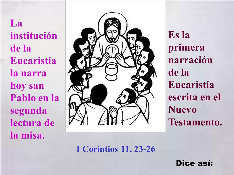El mandamiento del amor es una condición para podernos unir con Jesucristo en la Eucaristía, como lo hicieron los apóstoles en aquella tarde del jueve