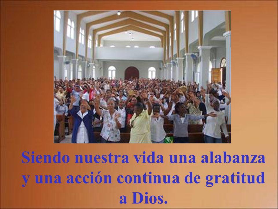 Alzaré la copa de la salvación invocando su nombre. Lo haremos participando dignamente en la Eucaristía y poniendo sobre el altar nuestra propia vida.
