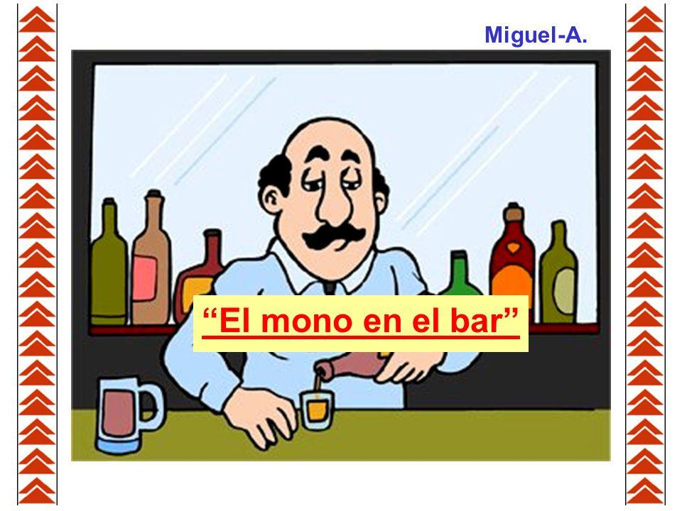 El mono en el bar Miguel-A.