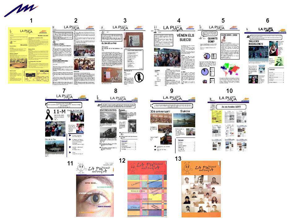 Aunque la revista es un proyecto de centro, cada número se elabora en el marco de un crédito variable trimestral de 3 HORAS semanales.