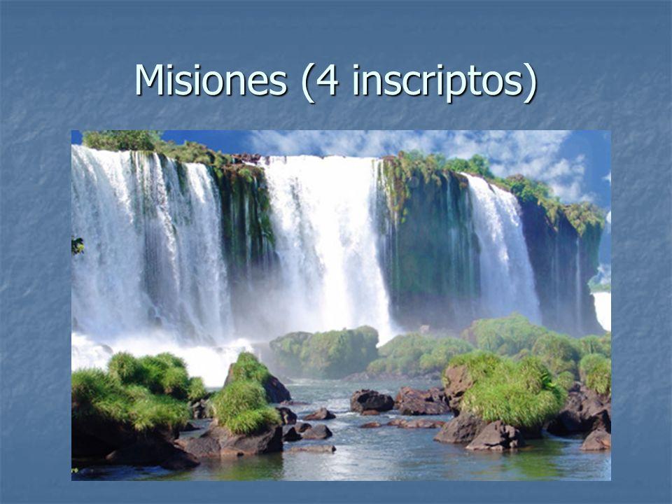 Misiones (4 inscriptos)