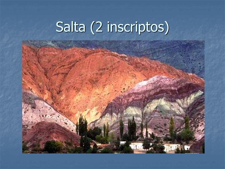 Salta (2 inscriptos)