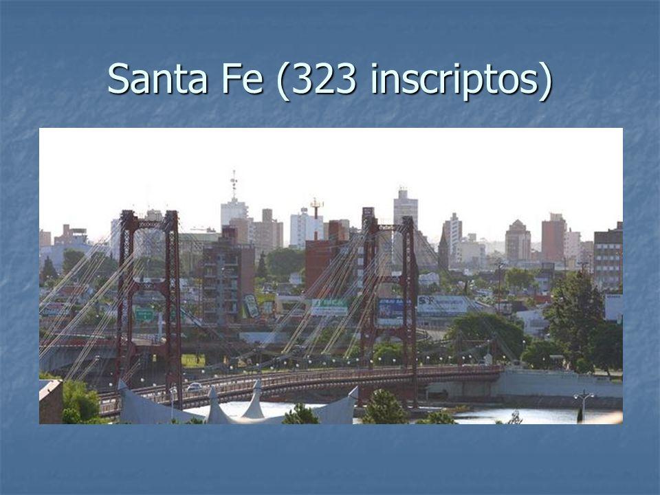 Santa Fe (323 inscriptos)