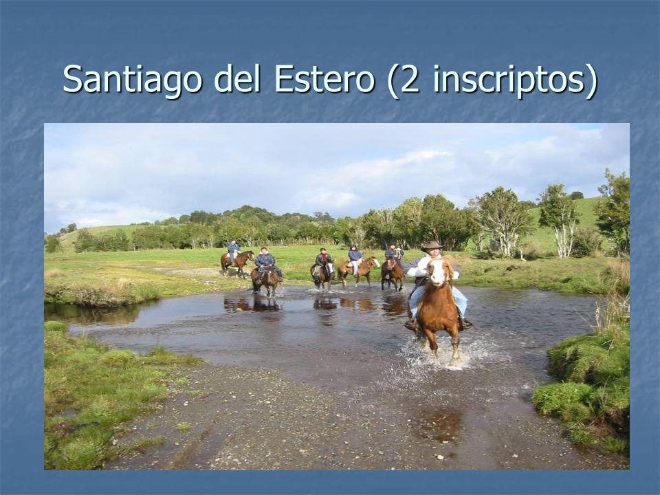 Santiago del Estero (2 inscriptos)
