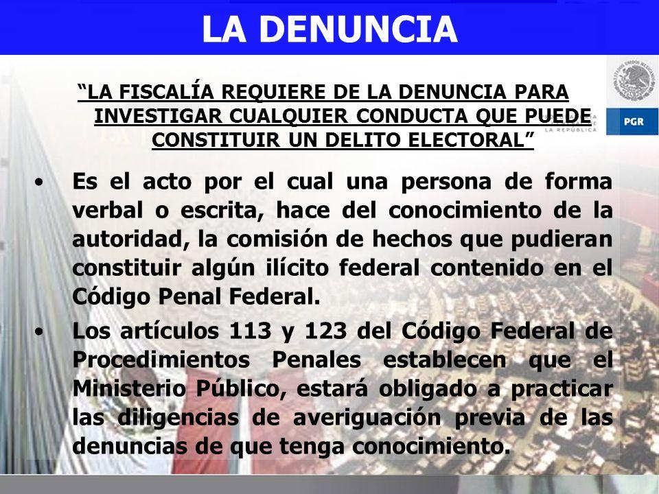 DENUNCIA PENAL.Como Derecho. Como Requisito.