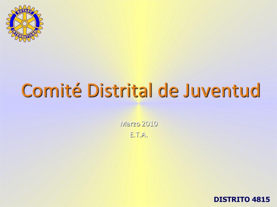 Comité Distrital de Juventud Marzo 2010 E.T.A.