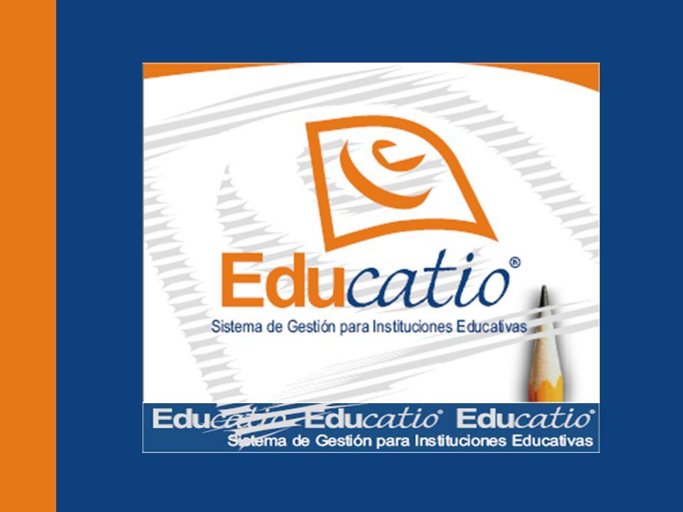 Titulos Gestión Académica Gestión Administrativa ¿ Para quién es Educatio ® .