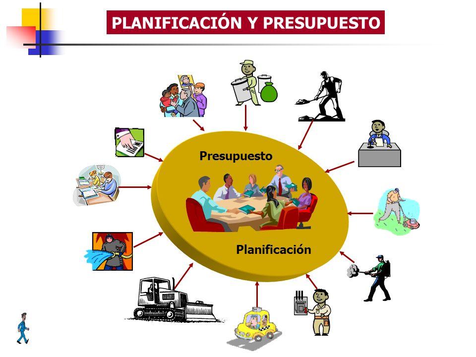 Planificación Presupuesto PLANIFICACIÓN Y PRESUPUESTO