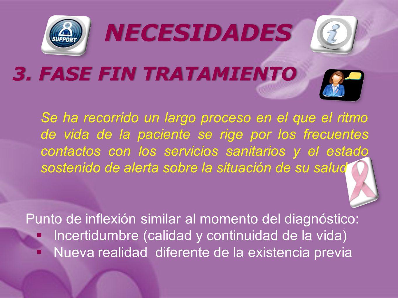 NECESIDADES 3. FASE FIN TRATAMIENTO3.