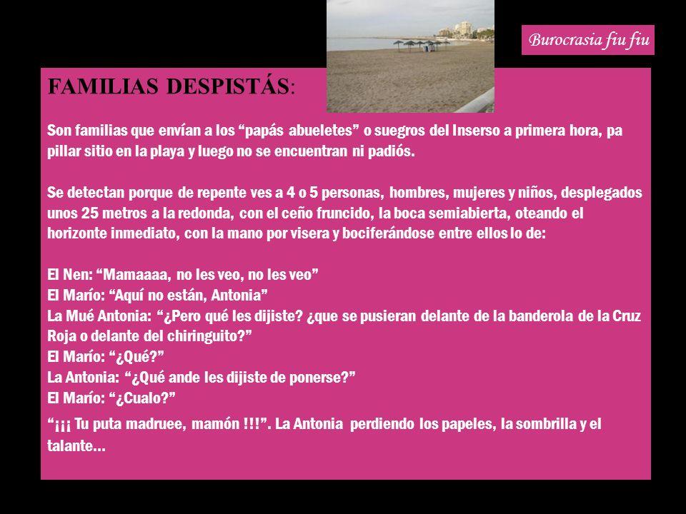 BUROCRASIA FIU FIU Visita nuestra Web http://webfacil.tinet.org/susisan