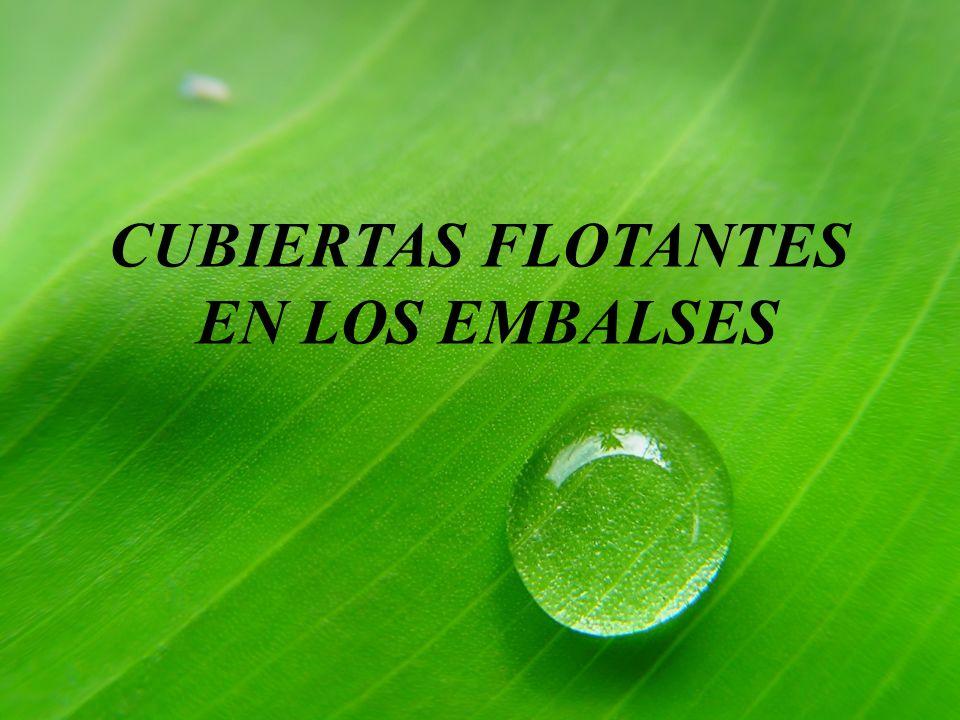 CUBIERTAS FLOTANTES EN LOS EMBALSES