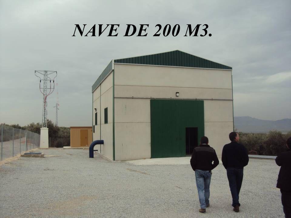 NAVE DE 200 M3.