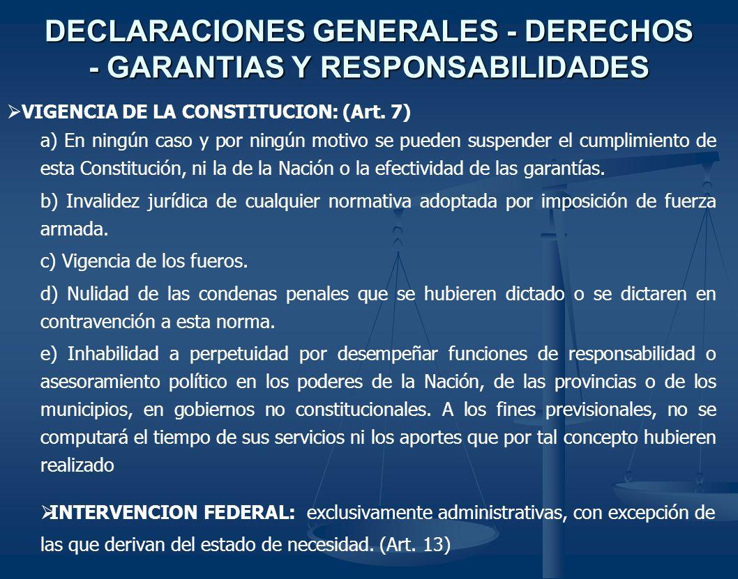 PODER EJECUTIVO GOBERNADOR Y VICEGOBERNADOR (Art.170) CONDICIONES DE ELEGIBILIDAD (Art.