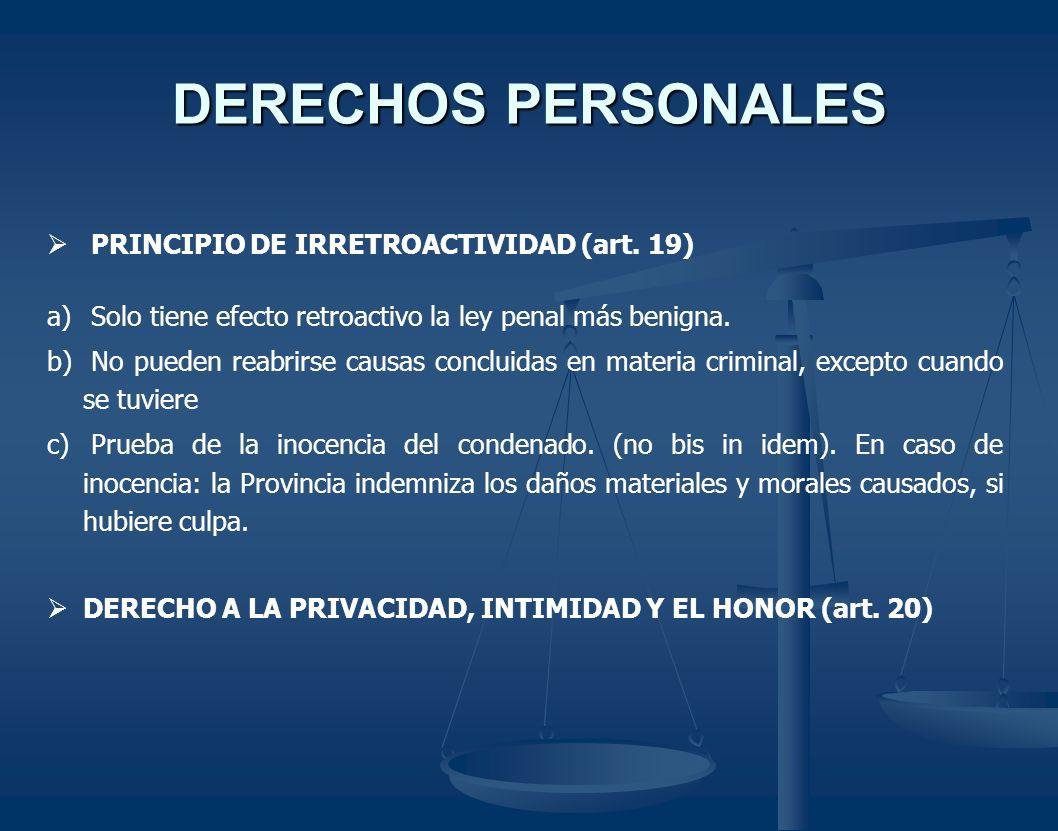 GARANTIAS PROCESALES ESPECIFICAS MANDAMIENTO DE PROHIBICION (art.