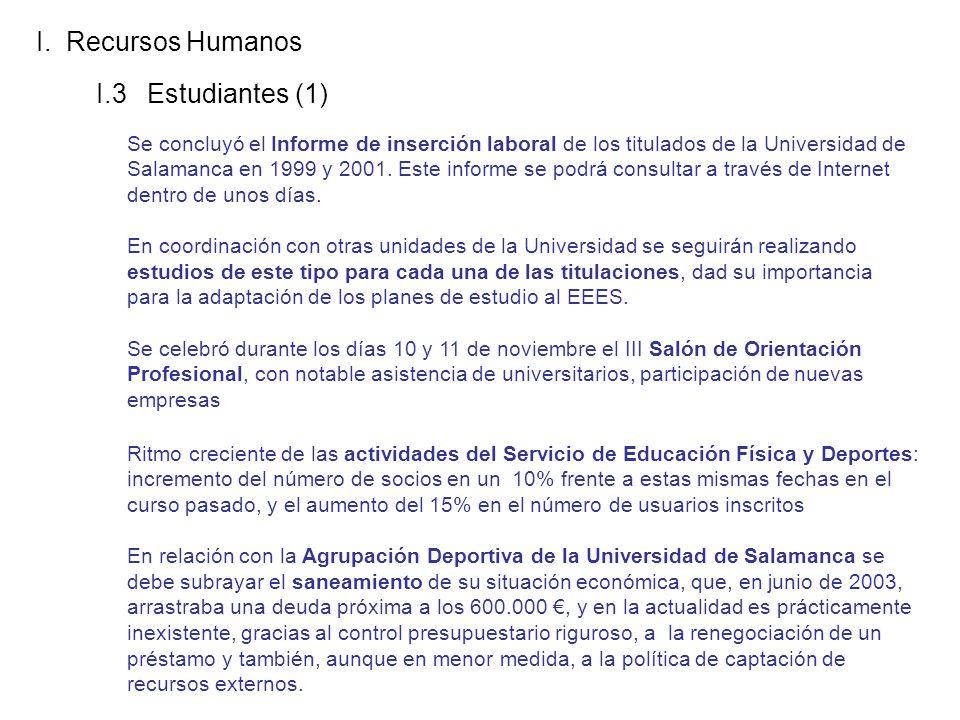 I.3 Estudiantes (1) I.