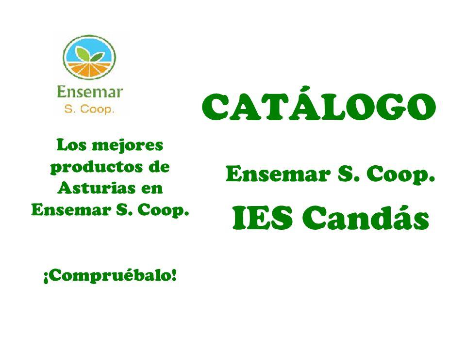 CATÁLOGO Ensemar S. Coop. IES Candás Los mejores productos de Asturias en Ensemar S. Coop. ¡Compruébalo!