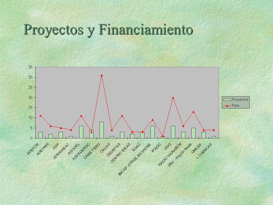 Proyectos y Financiamiento