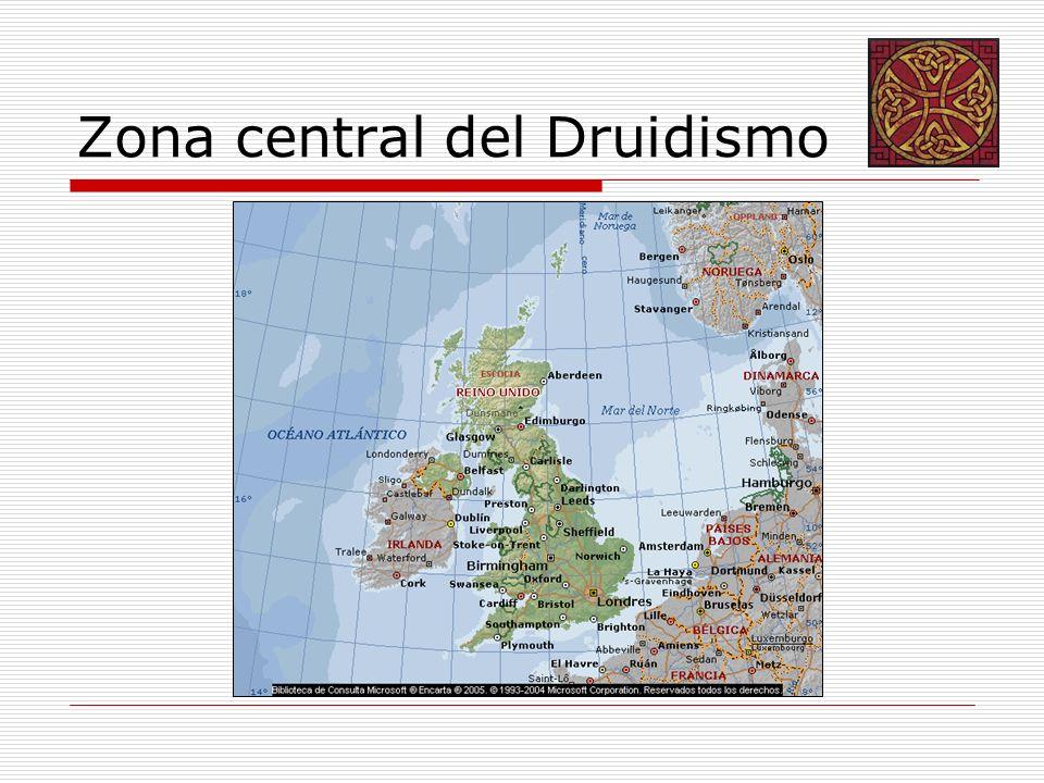 Estructura: TemplosEl Druidismo utiliza los antiguos templos construidos desde el 5000 al 2000 a.C.