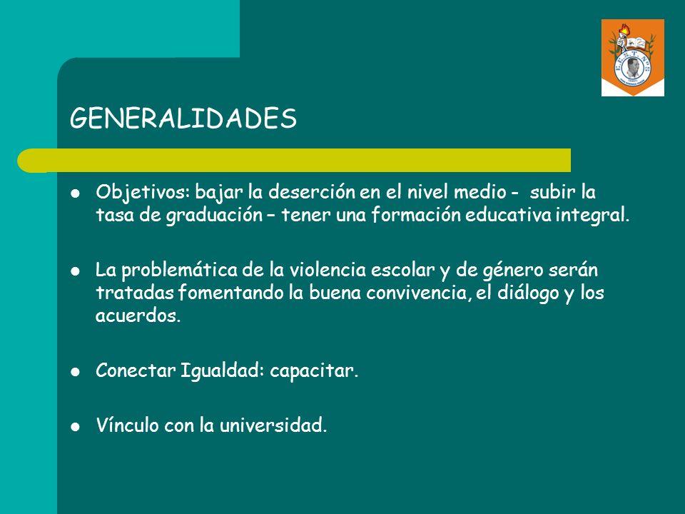 GENERALIDADES Nuevo Reglamento General de las instituciones educativas de la Provincia de Buenos Aires.