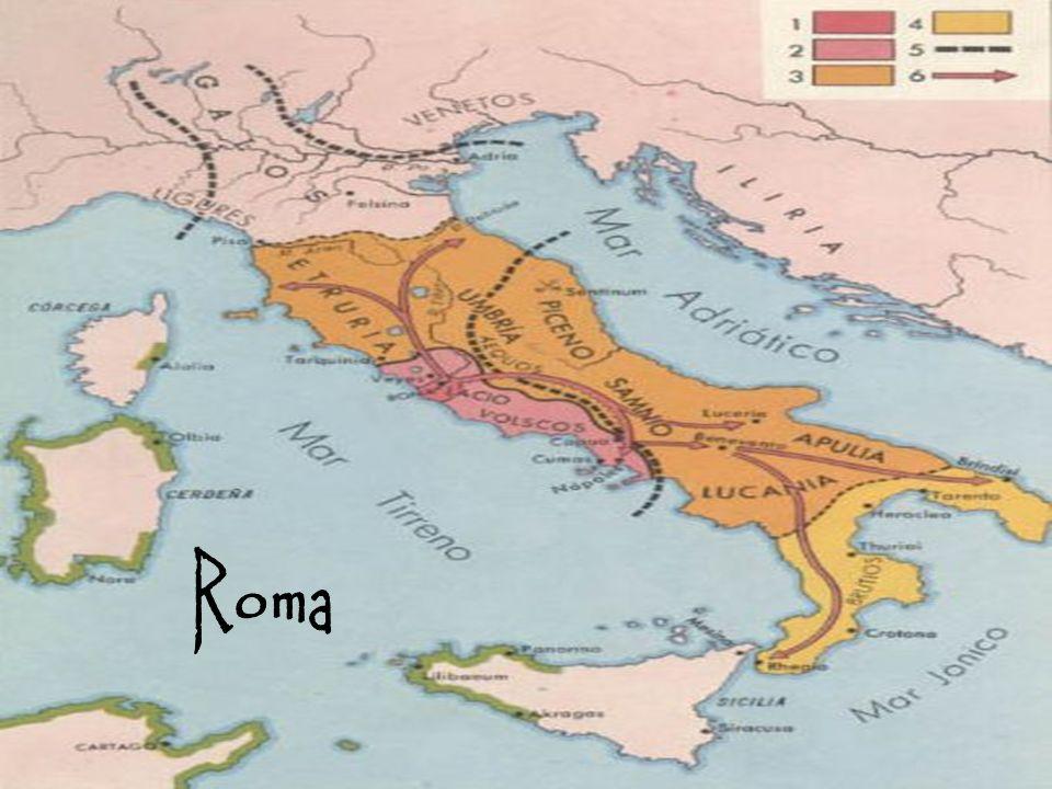 Época: República siglo VI al I a.C.Imperio siglo I a.C.