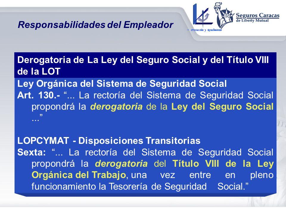 LOPCYMAT – Disposiciones Transitorias Quinta: Hasta tanto no sea creada la Tesorería de Seguridad Social,... Los empleadores seguirán cotizando al IVS