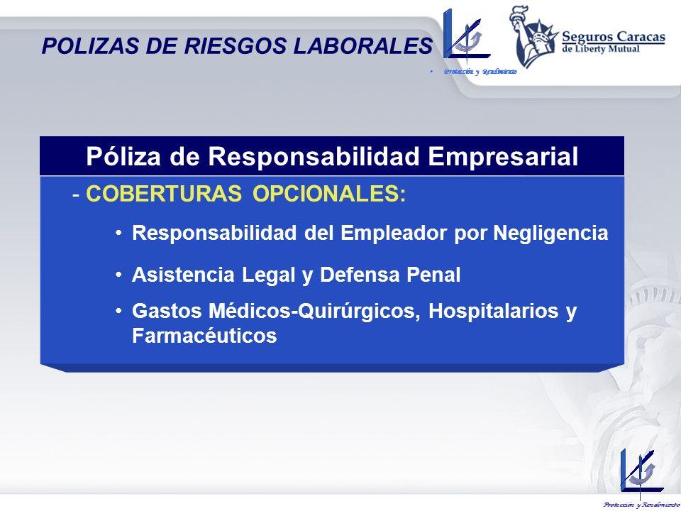 POLIZAS DE RIESGOS LABORALES COBERTURA BASICA: Responsabilidad Subjetiva del Empleador – Prestaciones Indemnizatorias en Art. 130 LOPCYMAT MUERTE: Sal