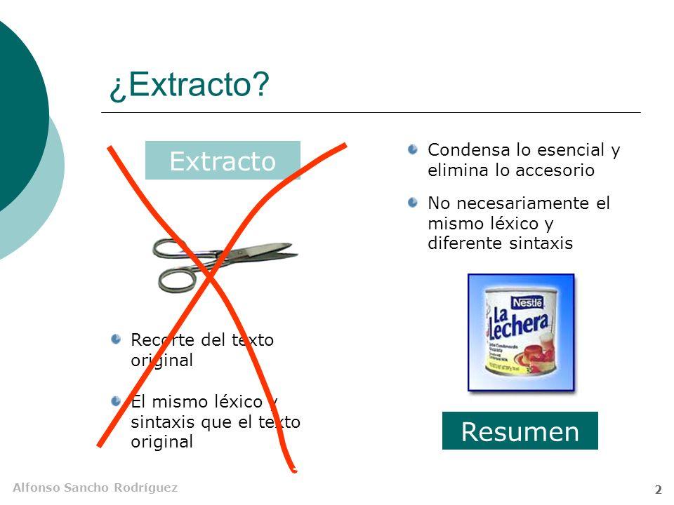 Alfonso Sancho Rodríguez 2 ¿Extracto.
