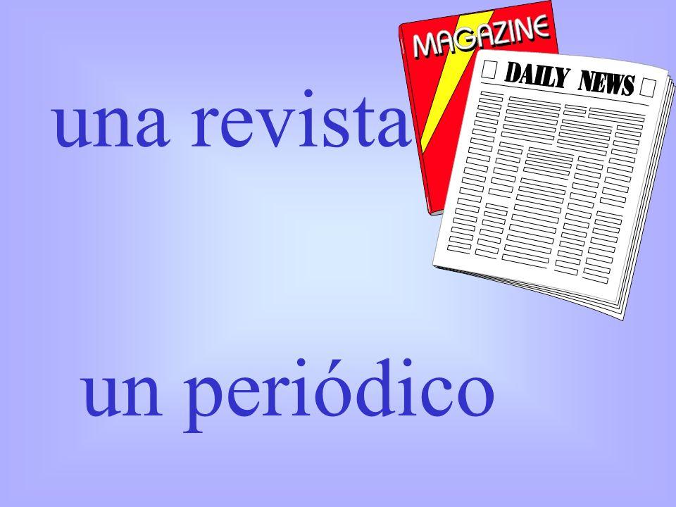 una revista