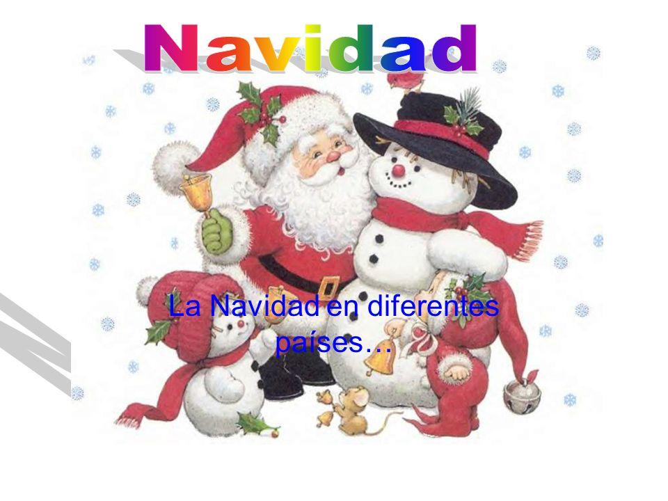 La Navidad en diferentes países…