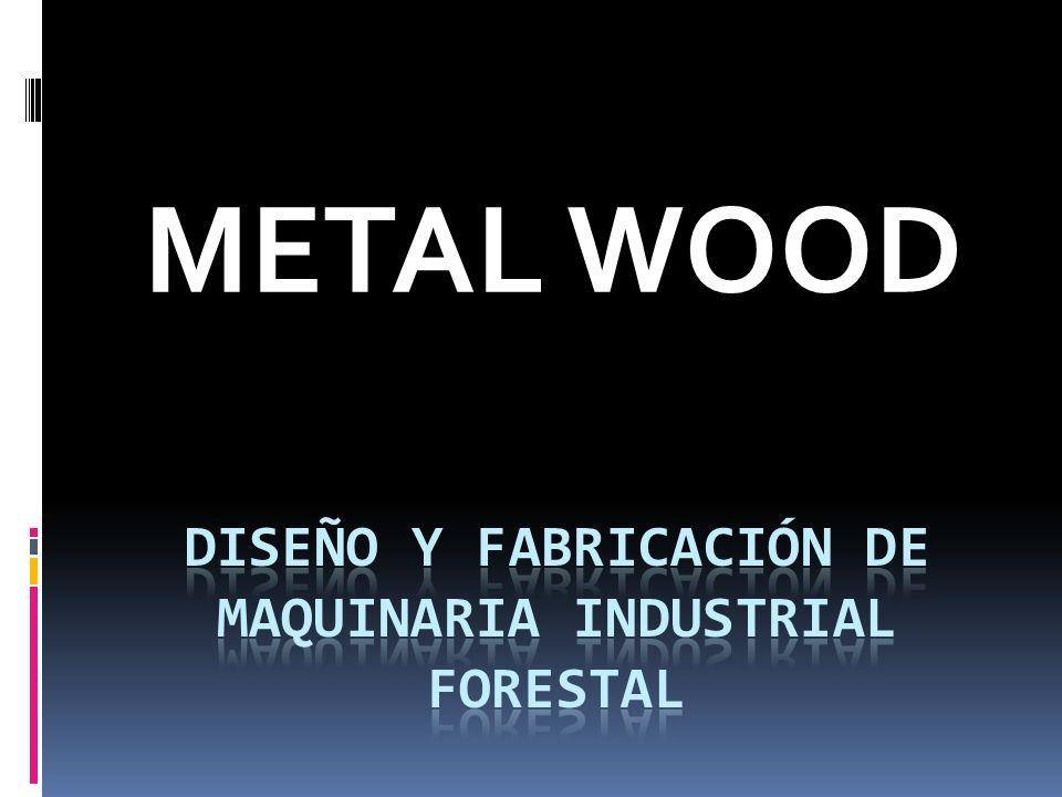 VISIÓN Ser una empresa líder en el mercado industrial de subproductos de la madera, aplicando diseño, desarrollo y tecnología; cualidades que nos posicionan en el mundo forestal con alternativas que incrementan su productividad.