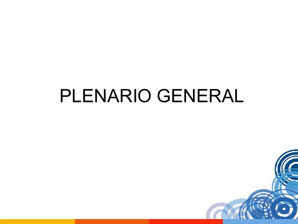 PLENARIO GENERAL