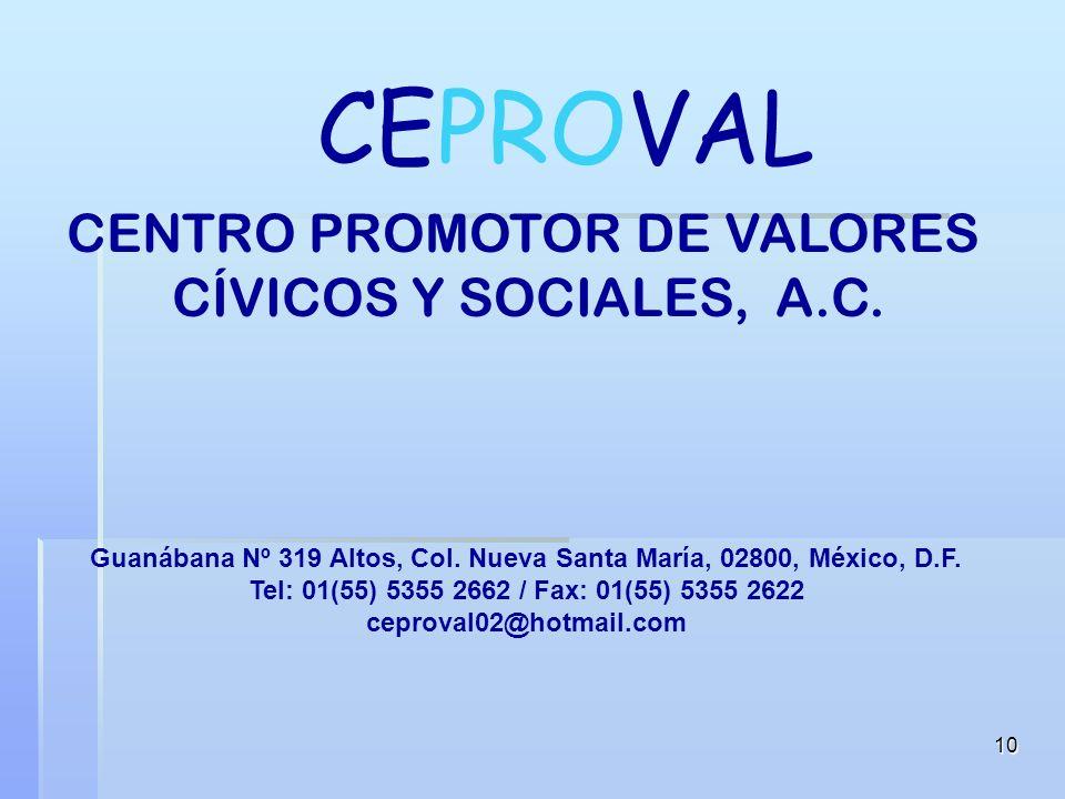 9 México tiene un pueblo bueno y noble, necesitado de mensajes claros y sencillos, que motiven el interés de una sana superación Con tu participación