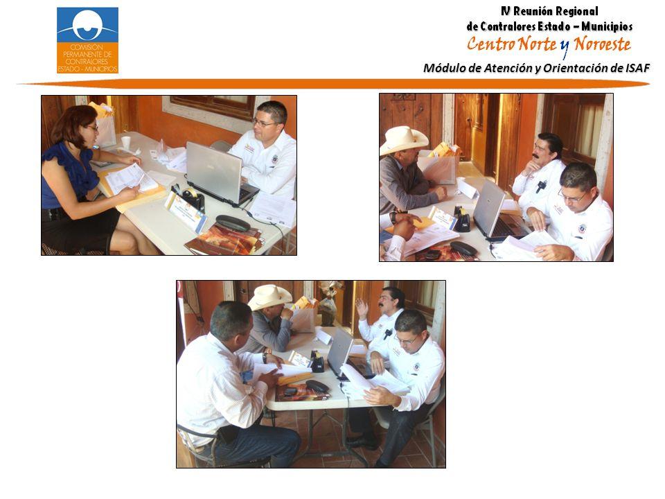Módulo de Atención y Orientación de ISAF