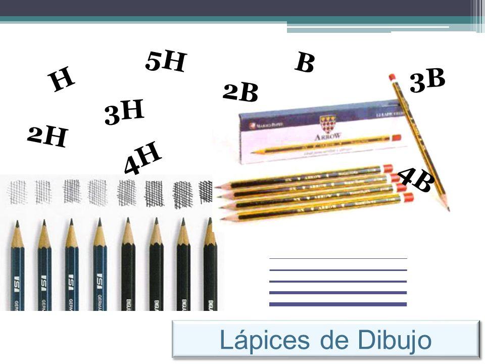 Lápices de Dibujo H B 2H 3H 4H 5H 2B 3B 4B