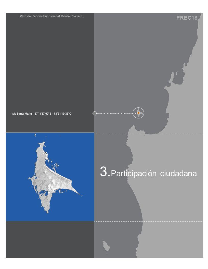 PRBC18 Plan de Reconstrucción del Borde Costero 3. Participación ciudadana Isla Santa Maria - 37° 1'37.90