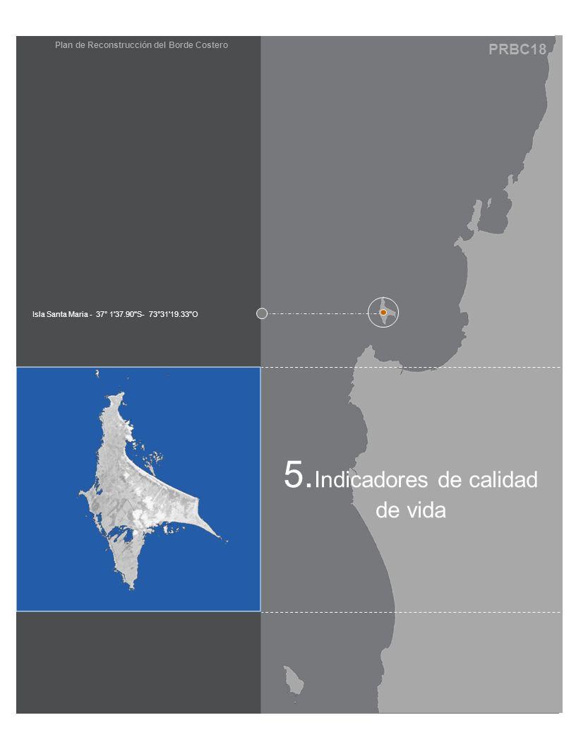 PRBC18 Plan de Reconstrucción del Borde Costero 5. Indicadores de calidad de vida Isla Santa Maria - 37° 1'37.90
