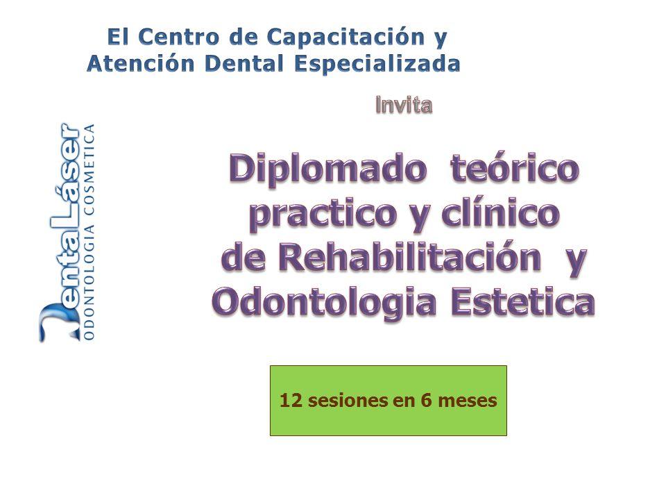 Con mas de 25 años de Experiencia en el ramo Odontológico y respaldado por actualizaciones constantes, el Dr.